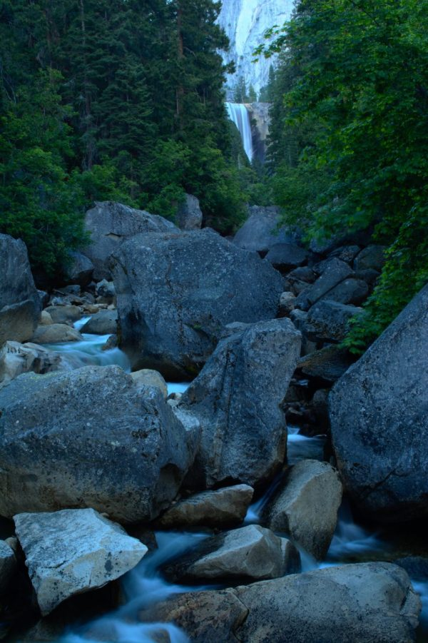 Vernal Falls yosemite merced river
