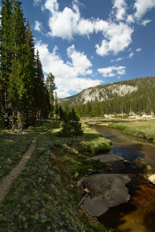 yosemite backpacking backcountry wilderness trail