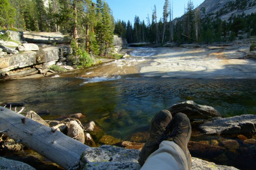 yosemite backcountry wilderness river