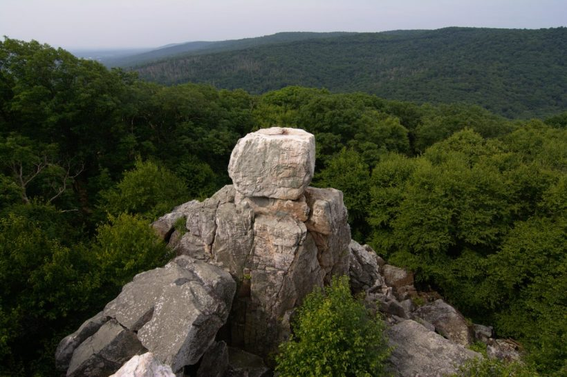 catoctin mountain park chimney rock