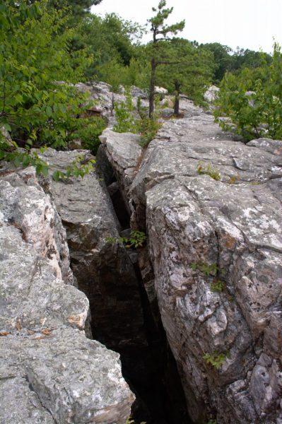 catoctin mountain park quartzite chasm