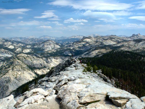 yosemite clouds rest vista landscape