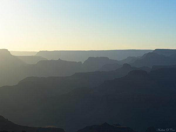 grand canyon national park ridge abstract