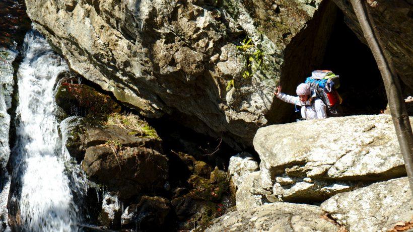 Cascade in Shenandoah National Park