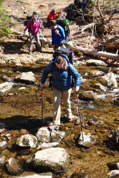 River crossing in Shenandoah National Park