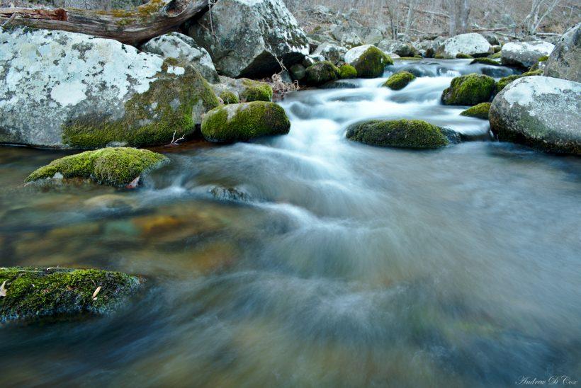 Hughes River, near Nicholson Hollow in Shenandoah National Park