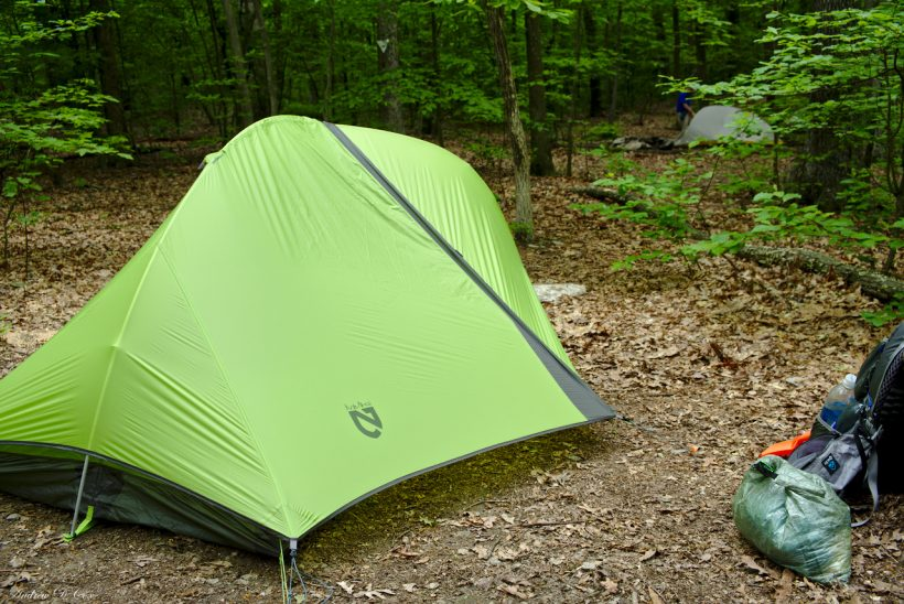 nemo hornet tent camp backpacking