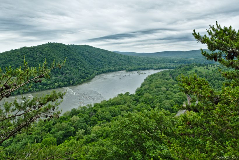 weverton cliff view potomac river