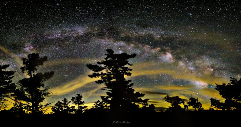 dolly sods wilderness milky way