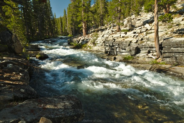 bear creek john muir trail
