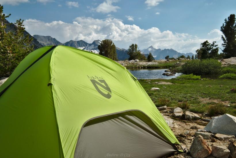 camping john muir trail