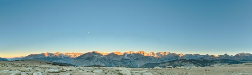 john muir trail alpenglow