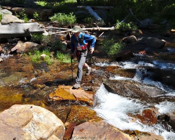 granite creek crossing inyo national forest