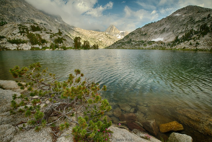 john muir trail evolution lake