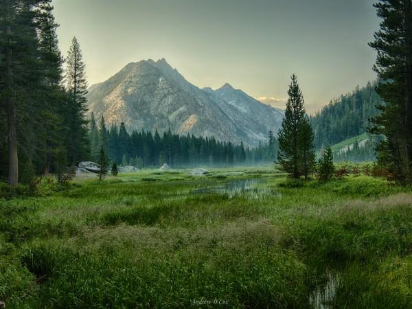 john muir trail grouse meadows