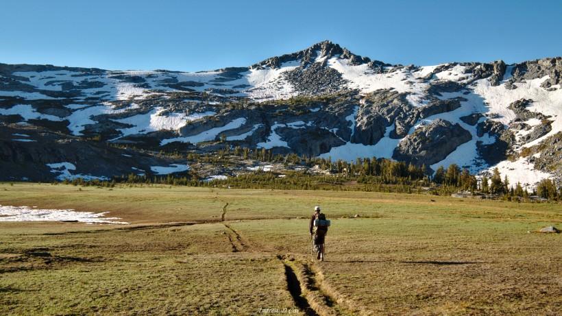 trail yosemite meadow Isberg