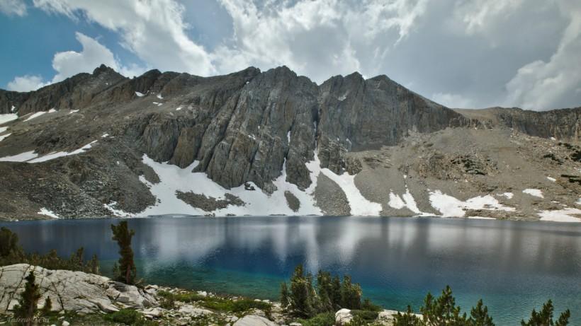 lake marjorie john muir trail