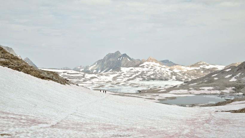 john muir trail muir pass snow