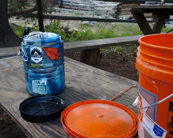 bear canister resupply john muir trail