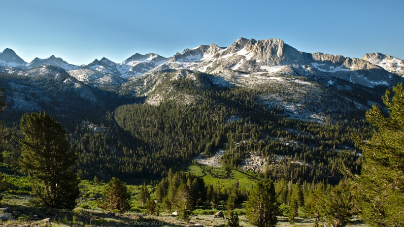 john muir trail silver divide tully hole