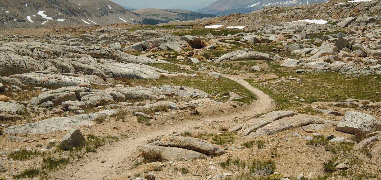 john muir trail high altitude
