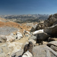 yosemite backcountry wilderness red peak pass