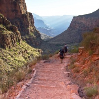 grand canyon national park hiking bright angel trail