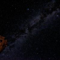 milky way astrophotography desert view watchtower