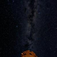 desert view watchtower milky way astrophotography