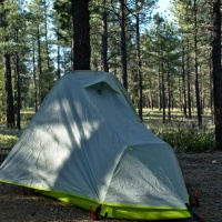 camping tent home