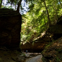 Rocky Hollow in Turkey Run State Park