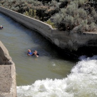 shoshone idaho canal swimming
