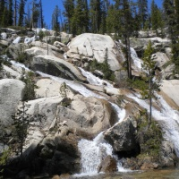 sawtooth mountains wilderness cascade