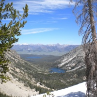 sawtooth mountains wilderness landscape