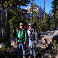 sawtooth mountains wilderness backpacking cold