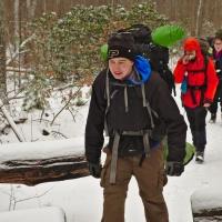 winter backpacking shenandoah national park