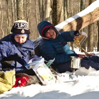 winter camping shenandoah national park backpacking