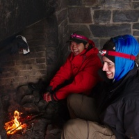 shenandoah national park shelter fire