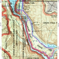great falls hiking billy goat trail map