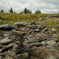 dolly sods wilderness cairn