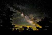 dolly sods wilderness milky way astrophotography
