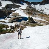 snow yosemite climb