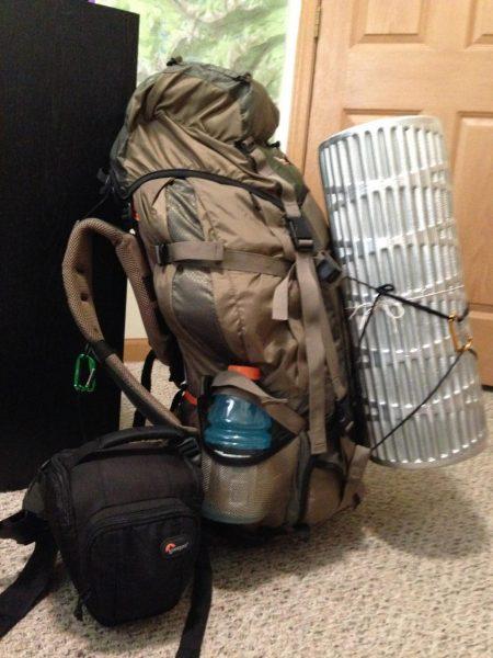 backpack backpacking