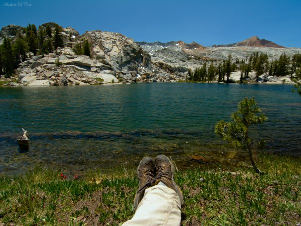 yosemite lake alpine