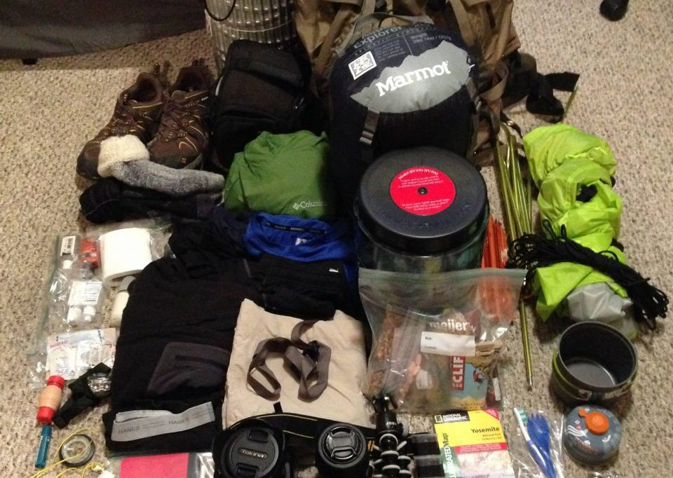 backpacking gear planning