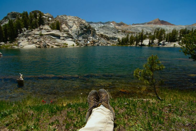 yosemite backcountry wilderness alpine lake