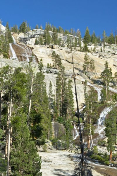 yosemite backcountry wilderness cascades