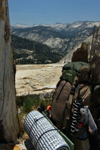 yosemite backcountry wilderness backpacking