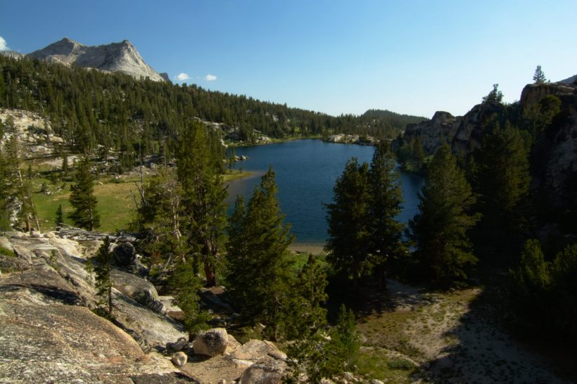 yosemite backpacking backcountry wilderness boothe lake