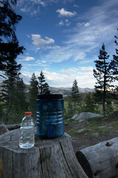 yosemite backpacking food drink
